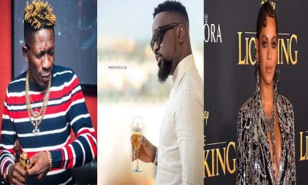 Beyonce Features Shatta Wale: Sarkodie reacts to reports