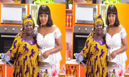 Nana Ama McBrown and Kumiwaa
