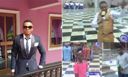 Obinim Quits Prophecy; Allows His Son And Daughter Deliver Church Members