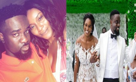 Tracy Sarkcess Birthday Wish To Sarkodie