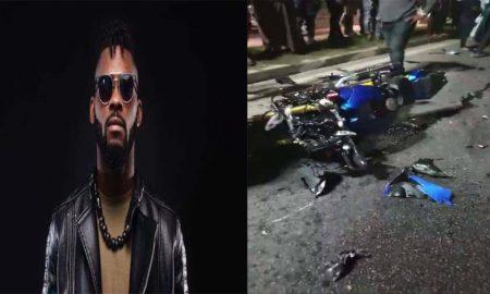 How DJ Arafat's Motor Hit The Car
