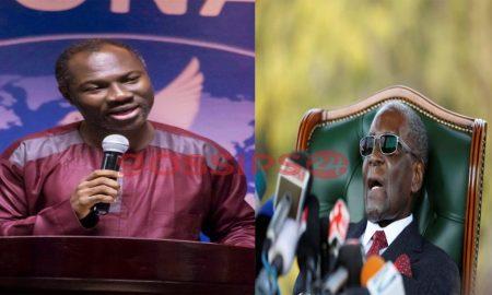 Badu Kobi and Mugabe