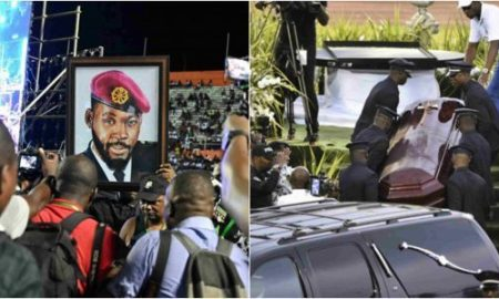 All The Photos From DJ Arafat's Funeral