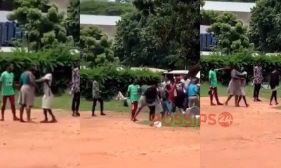 Legon Food Vendors Fight