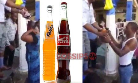 Pastor Uses Coke And Fanta To Baptize His Church Members