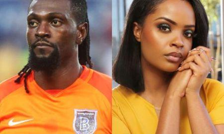 Emmanuel Adebayor and Dillish Mathews