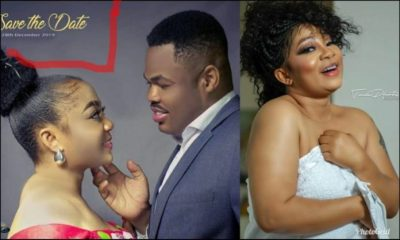 Actress Vicky Zugah finally finds 'Mr. Right' in trending 'Save the Date' photo 1