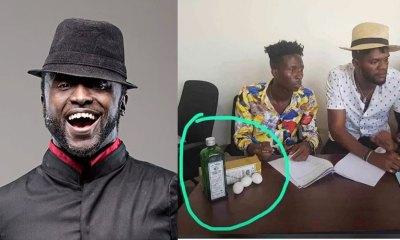 Reggie Rockstone speaks to Ogidi Brown's signing a new artist with a Schnapp & Egg saga 3