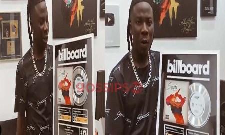 Stonebwoy honoured by Billboard