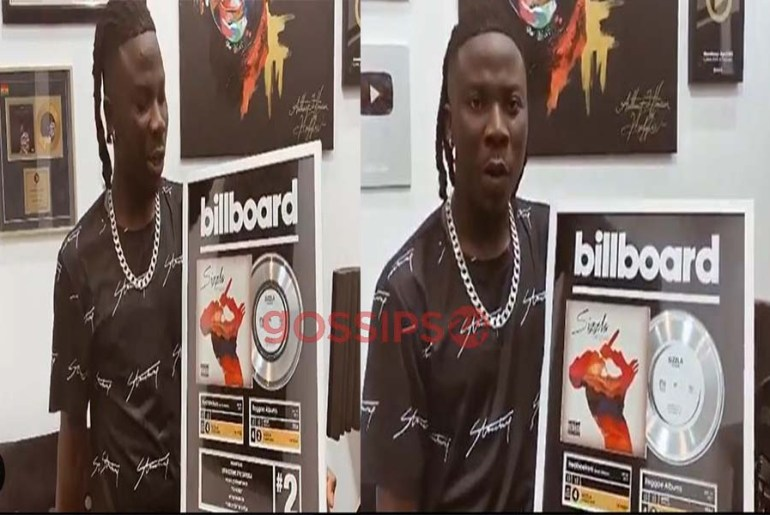 Stonebwoy honoured by Billboard