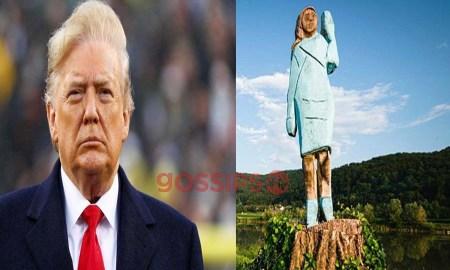 Donald Trump monument