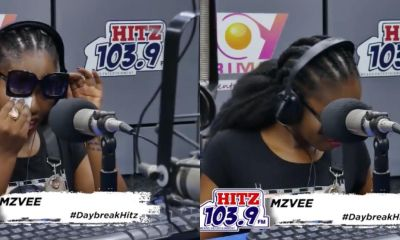Emotional moments as Tears flows down Mzvee's Cheeks on Live Radio (Video) 5