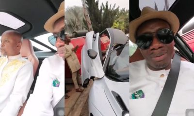 See how Counselor Lutterodt reacted after Cruising in a McLaren Car with Fada Dickson (VIDEO) 2