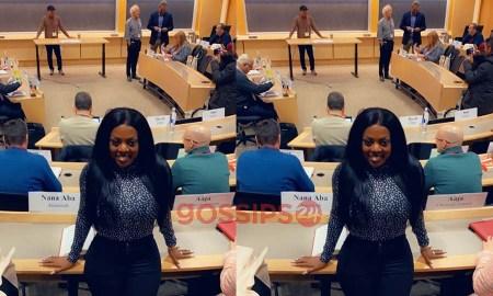 Nana Aba Anamoah classroom harvard university