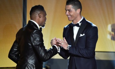 Cristiano Ronaldo is the Best Footballer of all time - Samuel Eto'o snubs former teammate Lionel Messi 2