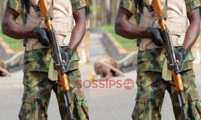 Angry soldier kills four of his colleagues