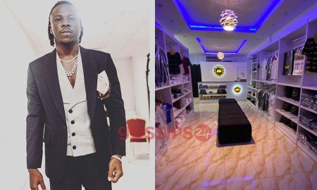 photos of Stonebwoy's BHIM shop