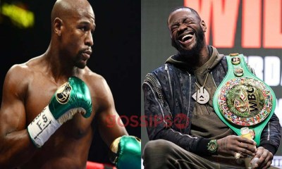 Deontay Wilder and Mayweather