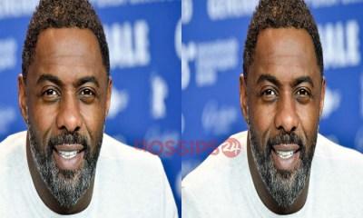 Idris Elba tests positive