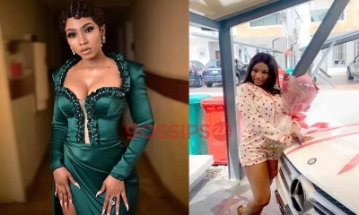 Mercy Eke gets a new Benz from a fan