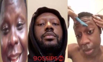 Pappy Kojo asks his fans to shave their eyebrows for ¢100