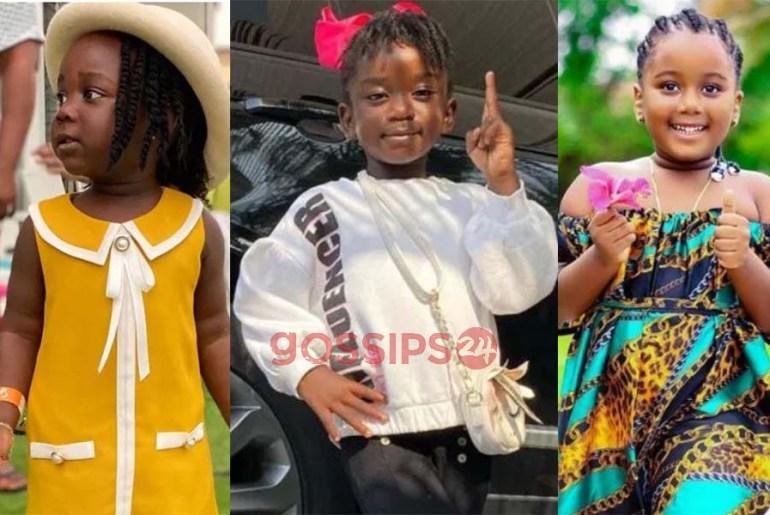 Top 10 most popular Ghanaian celebrity kids in 2020