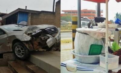 Car crashes koko seller to deathCar crashes koko seller to death