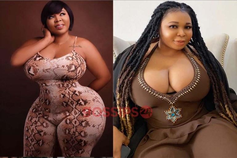 Purfcie Conna: Beautiful Photos of the Kumawood Actress who has more backside than Moesha