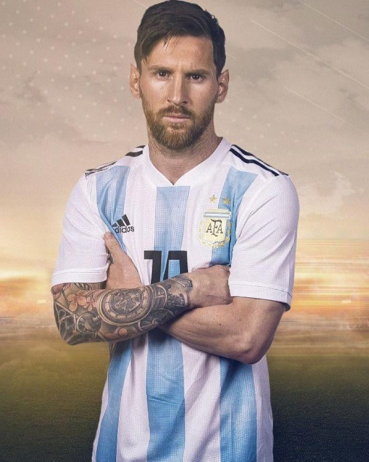 Lionel Messi flaunts his new look after shaving his beard (photos) 1