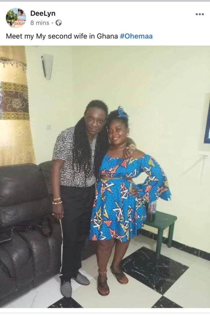 Meet The Bold Ghanaian L£sbian Who Has  Two Wives 2