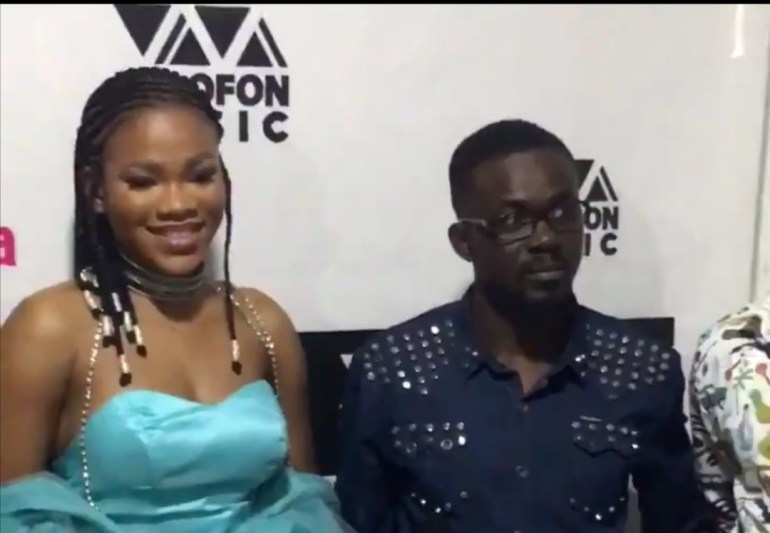 NAM 1 Ignores Menzgold Customers, Buys A Brand New  Limousine For His Newly Signed Act, Tisha (video) 2