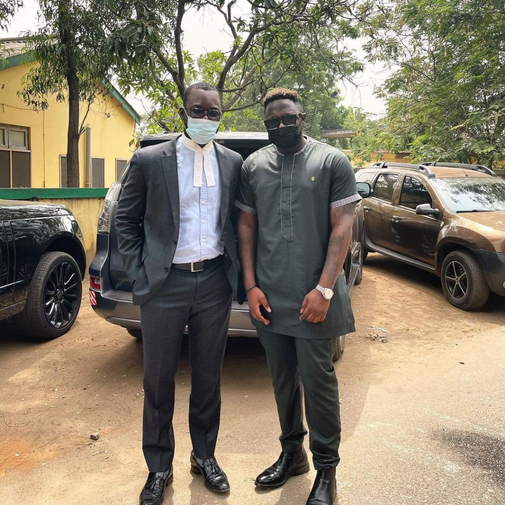 Medikal Runs To His Lawyer After A Social Media User Revealed He Will Soon Be Arrested (Photo) 2