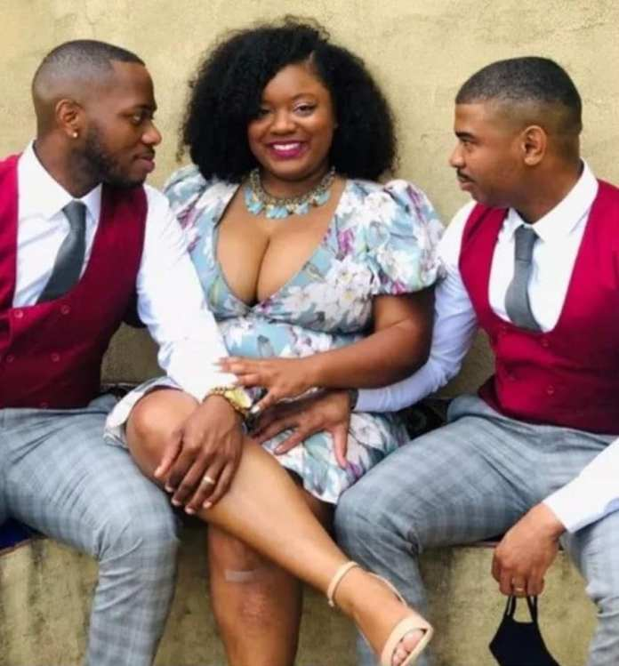 South African Woman Flaunts Her Two Husbands (Photos) 4