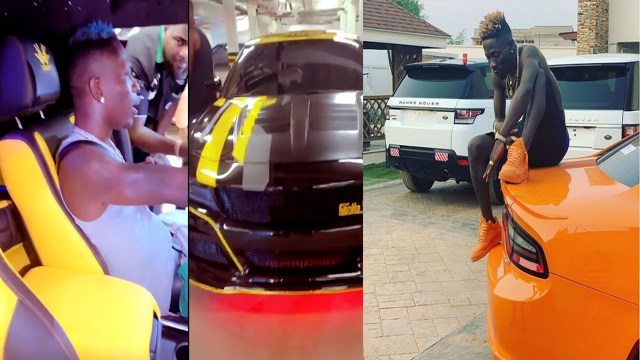 Shatta Wale buys a customized 2.1 billion 2020 Dodge Charger