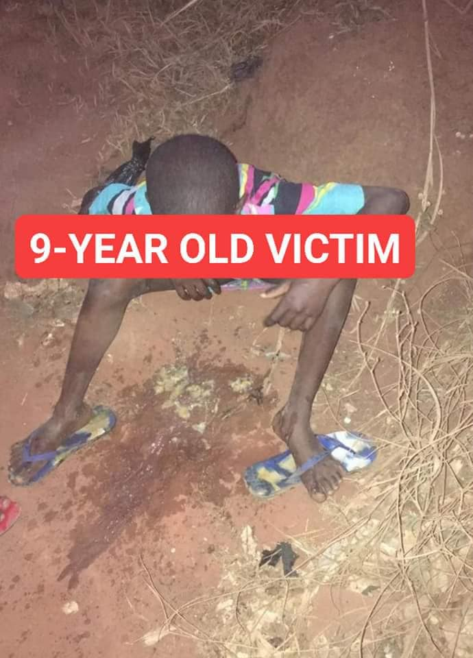 old man rapes 9 year old girl