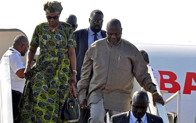 South Sudan's Vice President And Wife Test Positive For COVID-19
