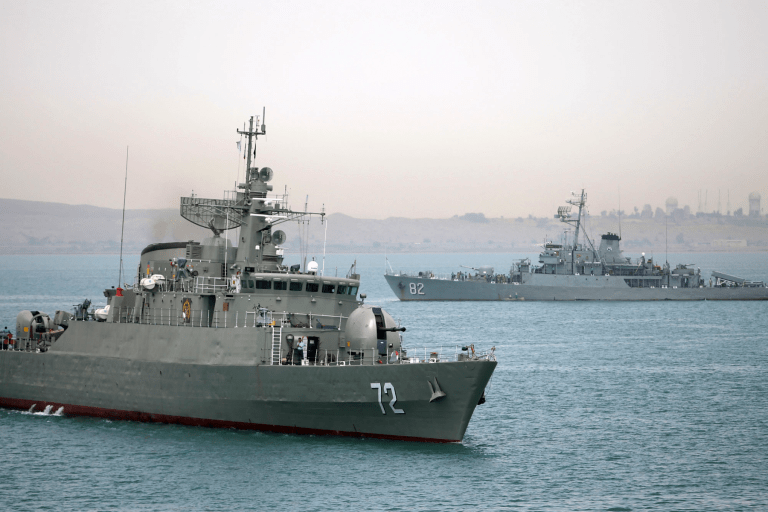 Iran Warship Hit By 'Friendly Fire' During Training