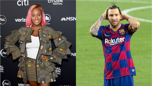 DJ Cuppy pleads with Messi