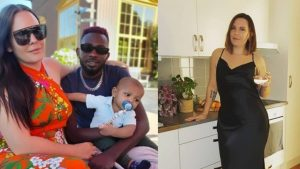 Nigerian singer May D Swedish wife Carolina Wassmuth 1024x576 1