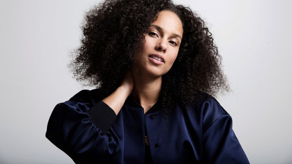 US singer Alicia Keys