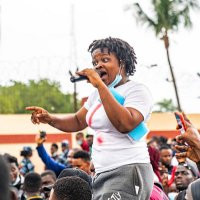 EndSars Promoter Rinuola Mocks CBN On Freezing her account with others