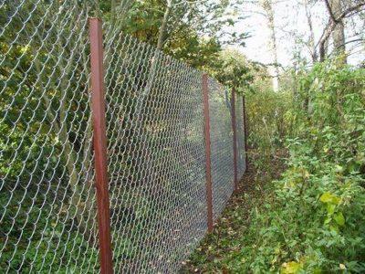 Забор из сетки рабицы. Купить забор | ГОСТ Томск.