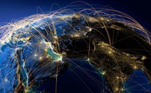 internet connecting world