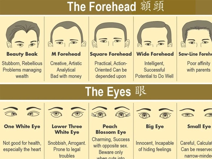 Face Reading, How To do it
