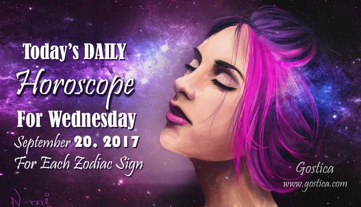 Today's DAILY Horoscope For Wednesday, September 20, 2017 For Each Zodiac Sign