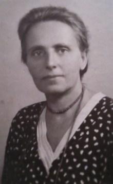 Циля Львовна Янковская, 1945