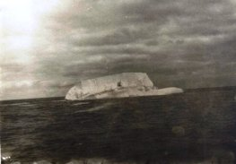 Появились первые айсберги. фото Кима Беленковича