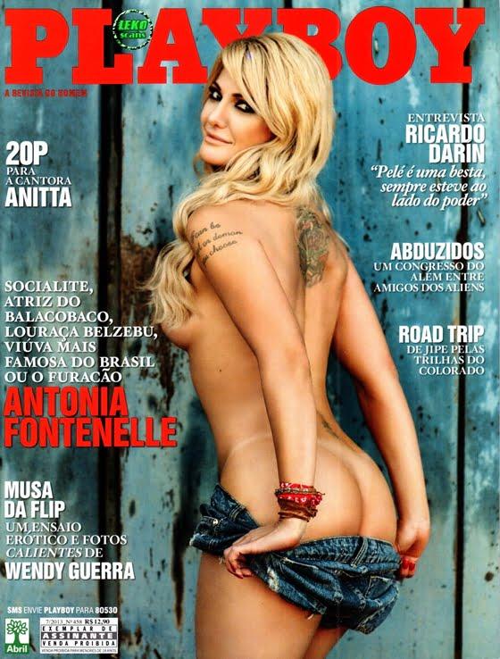 Antonia Fontenelle - Revista Playboy, fotos nua