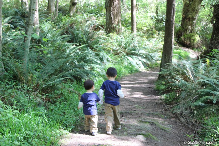 April in Seattle] Whidbey Island - Go Strollers !!