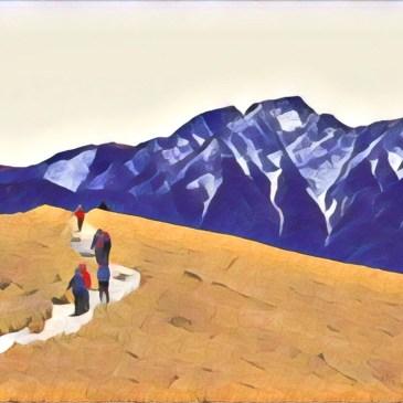 新手入門百岳-合歡北峰之漫步在阿爾卑斯山